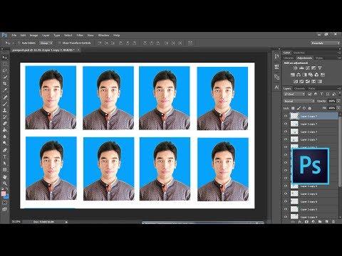 Create Passport size Photo in adobe Photoshop cs6/cc