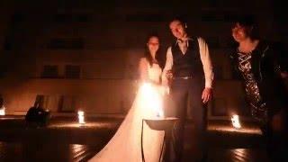 """""""Ugnies teatro"""" pasirodymas vestuvėse"""