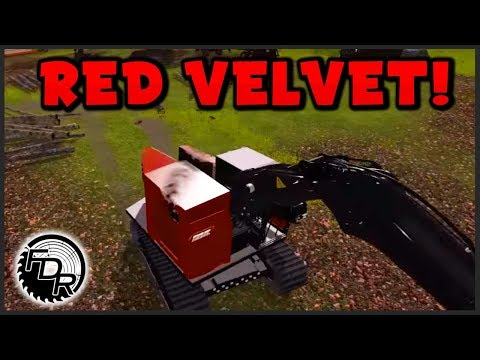 (farming Simulator 2015 Logging) - Mp84 - Red Velvet Processor