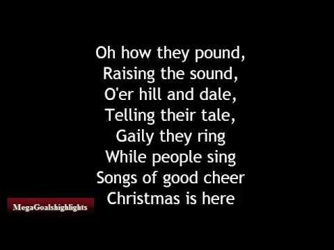 ", title : 'Carol of the bells - Christmas Song ""Lyrics""'"