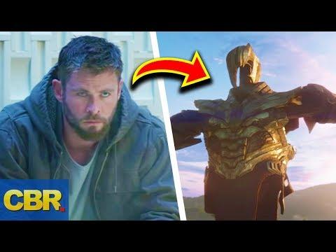 Marvel Avengers 4 Endgame Trailer Breakdown And Analysis