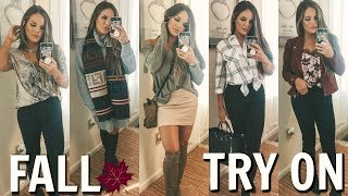 CURRENT FALL CLOTHING FAVORITES / MY MUST HAVES & TRY ON!  | Casey Holmes by Casey Holmes