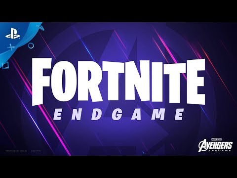 Fortnite - Avengers: Endgame Trailer | PS4