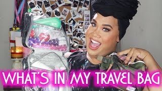 WHAT'S IN MY TRAVEL BAG | PatrickStarrr by Patrick Starrr