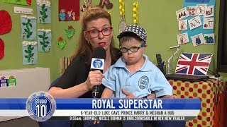 Meet The Dubbo Boy Who Melted Prince Harry's Heart | Studio 10