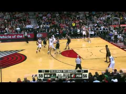 Minnesota Timberwolves 95 – Portland Trail Blazers 103