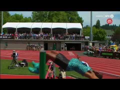 2.32 Erik Kynard Diamond league EUGENE  2015