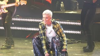 """Smells Like Teen Spirit (Nirvana)"" Pink@Capital One Arena Washington DC 4/17/18"