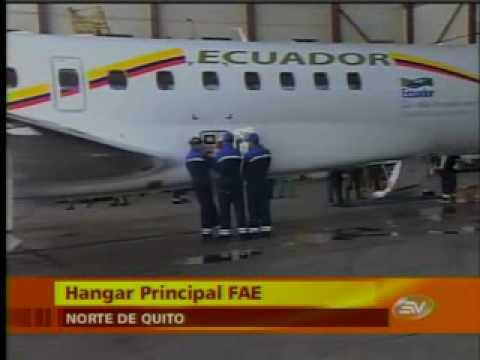 Rafael Correa Estreno Avion Presidencial de 30 milliones no paga deuda de 30 milliones