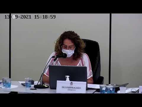 25ª SESSÃO ORDINÁRIA EM 13 DE SETEMBRO DE 2021