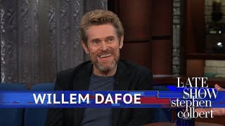 Video Finally, The Truth Behind Willem Dafoe's First Name MP3, 3GP, MP4, WEBM, AVI, FLV Oktober 2018