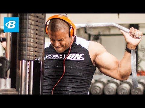 Optimum Back: Daniel Banks' Lat Workout