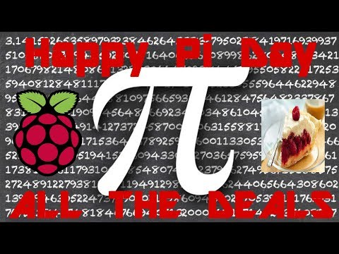 Happy Pi Day 2018 - All The Deals & Happenings