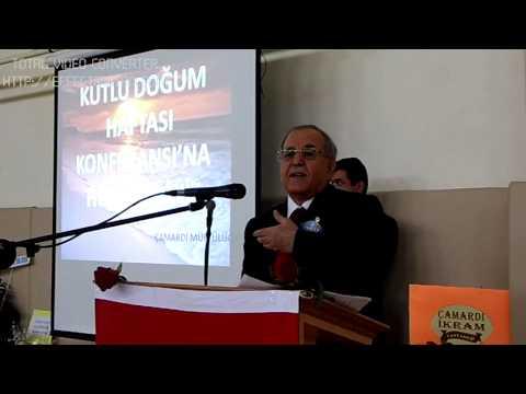 Kutlu Doğum Konferansı Mehmet Zeki DUMAN 3