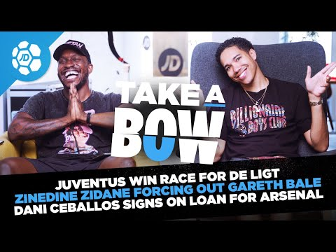 Dani Ceballos On Loan To Arsenal, Zidane's Forcing Bale Out, De Ligt To Juventus | Take A Bow
