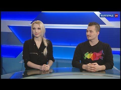 Студенческая весна. Студенты Екатерина Алифанова и Василий Никулин