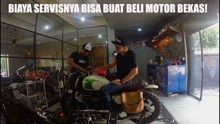 MotoVLog - Servis Besar Triumph Bonneville di Troupe, Nemu Air di Tangki Bensin! :(