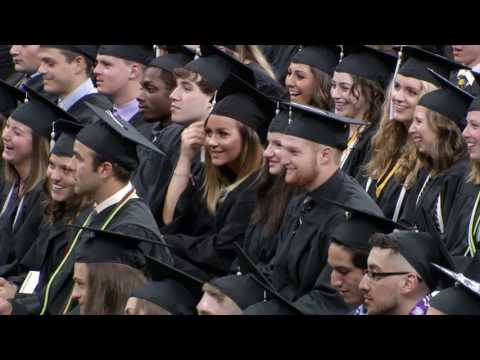 University of Iowa CLAS 9AM Commencement - May 13, 2017