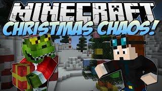 Minecraft | CHRISTMAS CHAOS! (Help Santa and Save Christmas!) | Minigame 1.7.4