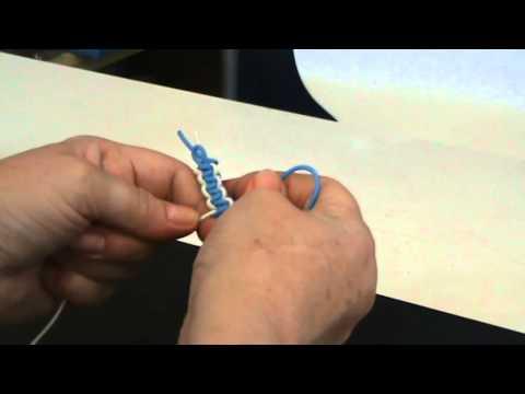 Macramee Armband selbst flechten