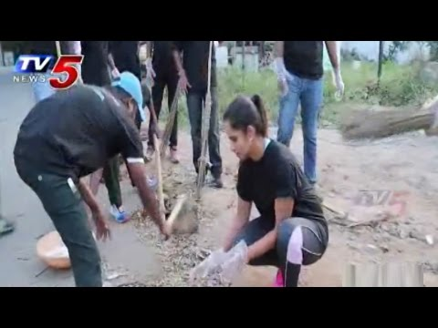 Sania Mirza Joins Swachh Bharat Campaign : TV5 News
