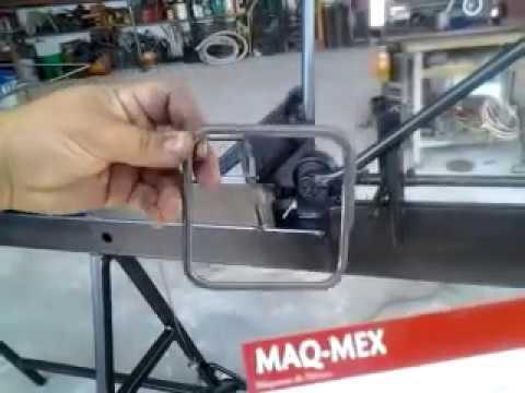 MAQMEX  maquina para  hacer anillos de alambron