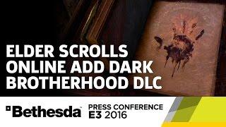 Elder Scrolls Online add Dark Brotherhood DLC Stage Show  - Bethesda Press Conference E3 2016 by GameSpot