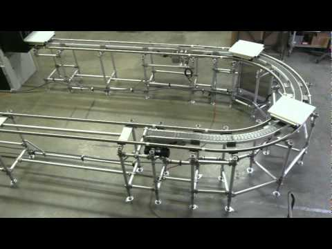 Case Study 6 - Oval Lean Assembly Cell with Low Temperature Oven