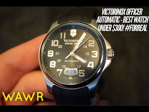 This Swiss Made Field Watch IS The Best Watch  Under $300 - Victorinox Officer Watch Review 241369