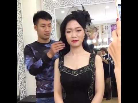 Makeup dự tiệc cuối năm với bông hậu Ngọc Hân và khách iu   Livestream   Mai Phan Makeup