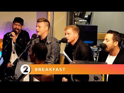 Backstreet Boys - No Diggity (Blackstreet Cover) - Radio 2 Breakfast Show Session