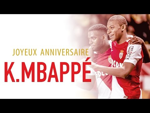 Les 5 dates de Kylian Mbappé ! - AS MONACO