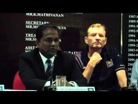 Full Press Conference – Graham Ford introduced as Sri Lanka Head Coach