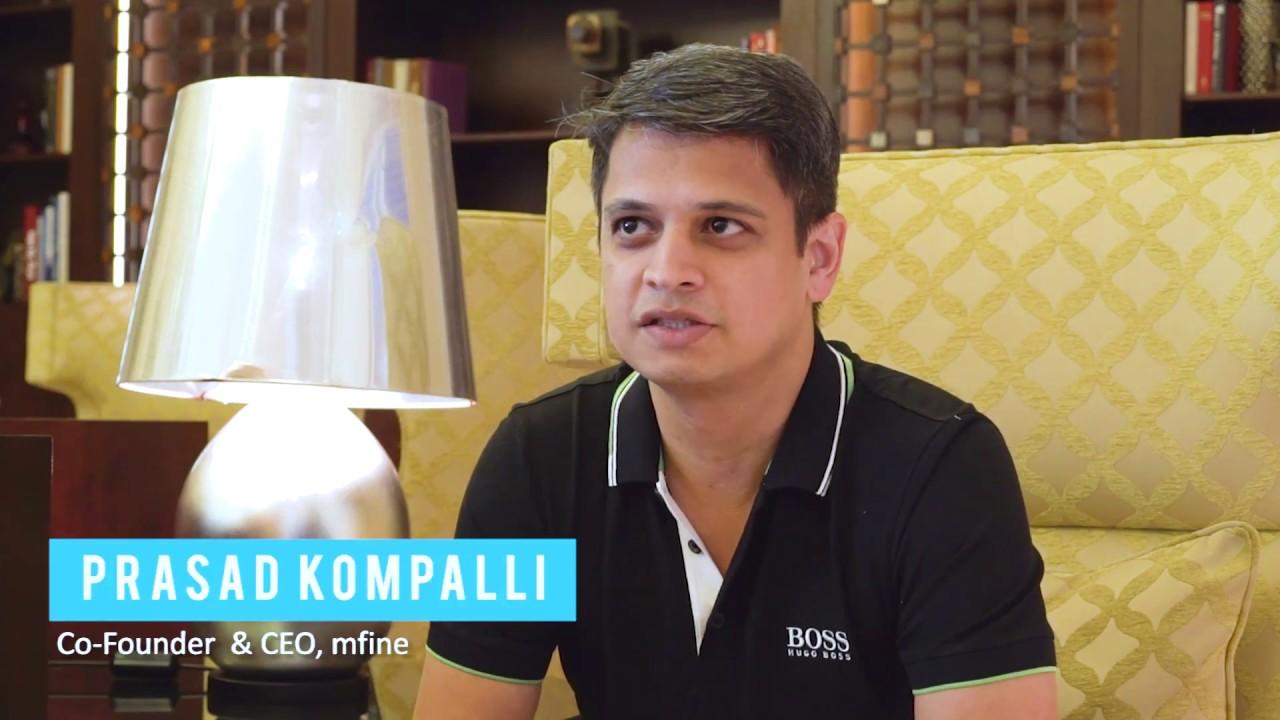 In conversation with Prasad Kompalli, CEO and Co-founder, mfine
