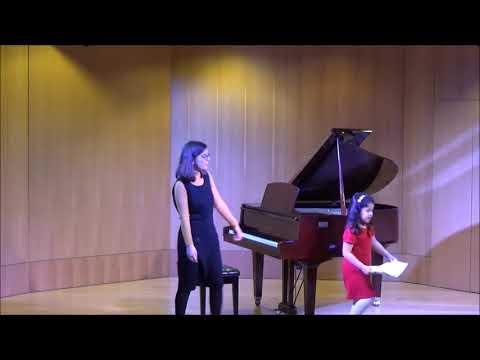 Ετήσια Μαθητική Συναυλία Πιάνου 16/ 03/ 2018 Μέρος Πρώτο