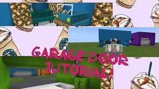 Download Lagu Minecraft PE Tutorial: Easy Working Garage Door! No Mods! Mp3