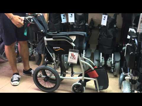 星之輪椅 Karma KM2501 (S-ERGO系列) 手推輪椅 (видео)