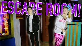 ESCAPE ROOM WITH HAYDEN SUMMERALL.... *SCARY*