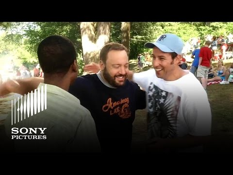 Sandler, James, Rock, Schneider & Spade star in GROWN UPS