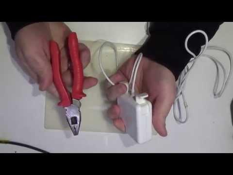 Ремонт зарядки для макбука