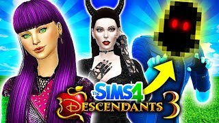 MAL'S FATHER REVEALED!😈 MAL DEFEATS MALEFICENT!🔥 Descendants 3 Sims 4: MAL'S JUNGLE ADVENTURE #2!
