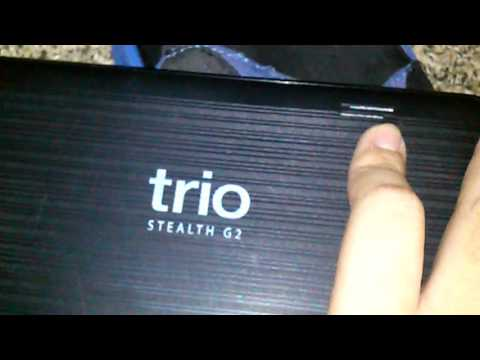 Trio stealth G2 tablet review
