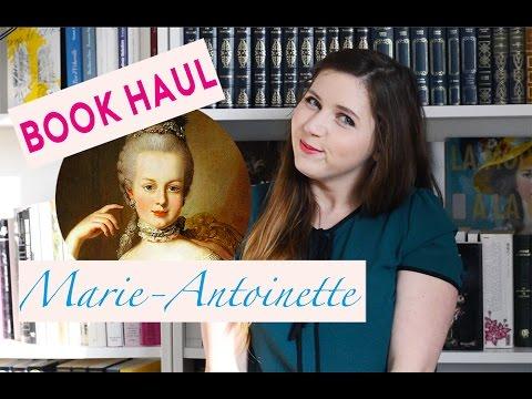 ♡ Book Haul | Mes livres sur Marie-Antoinette ♡