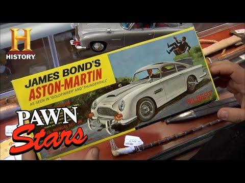 Pawn Stars: CHUM'S SUPER SMOOTH JAMES BOND CAR DEAL (Season 8)   History
