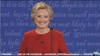 Clinton (OK) United States  city photos gallery : Hillary Clinton : Woo! ok! (2016 First Presidential Debate Live)