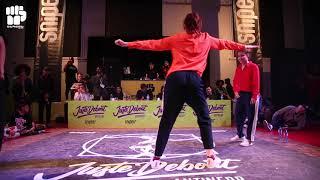 Sally Sly & Popbong vs Sacha & Cintia (Bandidas) – JUSTE DEBOUT 2019 Antwerp Popping Final
