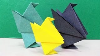 Learn how to make a simple and easy origami paper bird (chick) step by step.For more Origami / Paper Folding Craft Ideas, Videos & Tutorials, SUBSCRIBE to : http://www.youtube.com/CraftAndArtSchoolConnect with us on :FACEBOOK - https://www.facebook.com/CraftAndArtSchoolPINTEREST - http://www.pinterest.com/DIYCraftAndArtINSTAGRAM - http://www.instagram.com/craftandartschoolMusic by :Where I am From by Topher Mohr and Alex Elena.Downloaded from Youtube Audio library.