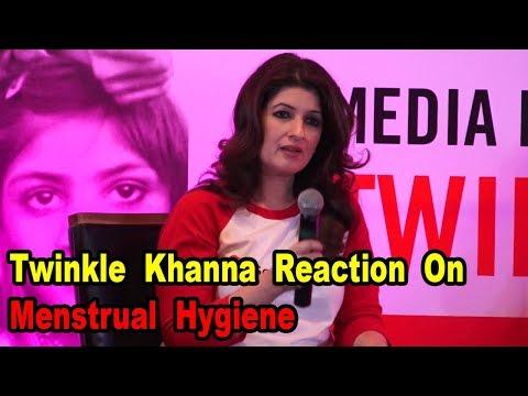 Twinkle Khanna  On Menstrual Hygiene | Bollywoodhelpline |