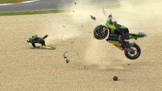 Video MotoGP™ Mugello 2014 -- Biggest crashes MP3, 3GP, MP4, WEBM, AVI, FLV Desember 2017