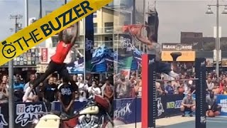 Chris Staples, you deserve all the awards with this dunk by @The Buzzer